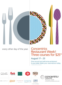 Concentrics Restaurant Week